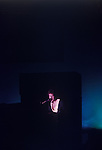 Paul and Linda McCartney Wings Tour 1975. Paul on stage Manchester, England..
