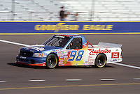 Nov. 1, 1997; Avondale, AZ, USA; NASCAR Craftsman Truck Series driver Kenny Irwin during the GM Goodwrench/Delco 300 at Phoenix International Raceway. Mandatory Credit: Mark J. Rebilas-
