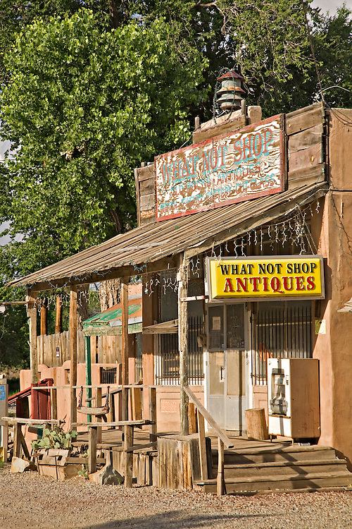 The What Not Shop in Los Cerrillos, New Mexico