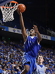 Sophomore forward Terrence Jones goes up for a layup during the second half of the UK Blue-White Scrimmage at Rupp Arena in Lexington, Ky., Oct. 26, 2011. Photo by Brandon Goodwin | Staff