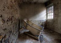 A hydro bath at West Park Asylum, Epsom, England