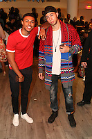 NEW YORK, NY - SEPTEMBER 13: Diggy Simmons and Cole Cook pictured at the Vipe Activewear Fashion Show featuring Vipe Noir by Angela Simmons at KIA Style 360 during New York Fashion Week on September 13, 2016. Credit: Walik Goshorn/MediaPunch