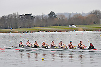 390 Marlow RC SEN.8+..Marlow Regatta Committee Thames Valley Trial Head. 1900m at Dorney Lake/Eton College Rowing Centre, Dorney, Buckinghamshire. Sunday 29 January 2012. Run over three divisions.