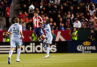 CD Chivas USA defender Ante Jazic (13). Sporting KC defeated CD Chivas USA 3-2 at Home Depot Center stadium in Carson, California on Saturday March 19, 2011...