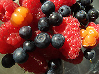 Berries rich in vitamins.