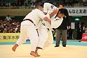(L to R) Masaru Momose, Daiki Kamikawa (JPN), .April 29, 2012 - Judo : .2012 All Japan Judo Championships, Quarterfinal .at Nihon Budokan, Tokyo, Japan. .(Photo by Daiju Kitamura/AFLO SPORT) [1045]