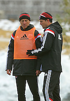 WASHINGTON, D.C - March 06 2014: D.C. United introduce new assistant coach from Inter Milan, Enzo Concina.