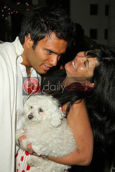 Diego Varas and Maria Conchita Alonso<br />