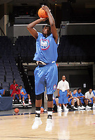 C/F JaMychal Green (Montgomery, AL / St. Jude) shoots the ball during the NBA Top 100 Camp held Friday June 22, 2007 at the John Paul Jones arena in Charlottesville, Va. (Photo/Andrew Shurtleff)
