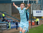 Dundee v St Johnstone....29.09.12      SPL.Liam Craig celebrates his goal that made it 2-1 to saints..Picture by Graeme Hart..Copyright Perthshire Picture Agency.Tel: 01738 623350  Mobile: 07990 594431