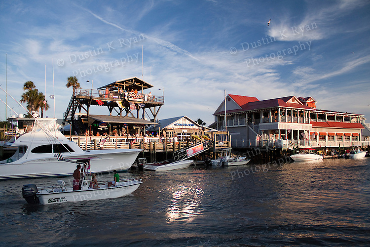 Shem Creek Mount Pleasant South Carolina Fishing Boats