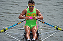 Daisaku Takeda (JPN), SEPTEMBER 17, 2011 - Rowing : The 89th All Japan Rowing Championships during the Race Semi-final of Men's Single Sculls at the Toda Olympic Rowing Course, Saitama, Japan. (Photo by Jun Tsukida/AFLO SPORT) [0003]