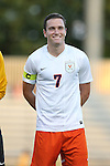 11 September 2015: Virginia's Todd Wharton. The Duke University Blue Devils hosted the University of Virginia Cavaliers at Koskinen Stadium in Durham, NC in a 2015 NCAA Division I Men's Soccer match. The game ended in a 2-2 tie after overtime.