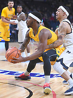 Siena defeats Monmouth 89-85 in a semifinal game of the MAAC tournament on March 05, 2017 at the Times Union Center in Albany, New York.  (Bob Mayberger/Eclipse Sportswire)