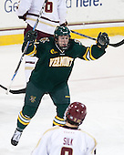 Colin Markison (UVM - 6) - The Boston College Eagles defeated the University of Vermont Catamounts 4-1 on Friday, February 1, 2013, at Kelley Rink in Conte Forum in Chestnut Hill, Massachusetts.