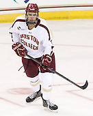 Isaac MacLeod (BC - 7) - The Boston College Eagles defeated the visiting University of Massachusetts Lowell River Hawks 6-3 on Sunday, October 28, 2012, at Kelley Rink in Conte Forum in Chestnut Hill, Massachusetts.