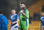 St Johnstone v Hamilton Accies&hellip;28.01.17     SPFL    McDiarmid Park<br />A fist pump from Zander Clark at full time<br />Picture by Graeme Hart.<br />Copyright Perthshire Picture Agency<br />Tel: 01738 623350  Mobile: 07990 594431