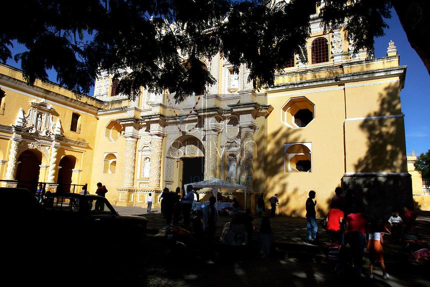 La Iglesia La Merced was finished in 1767, when Antigua was still the capital city.<br />