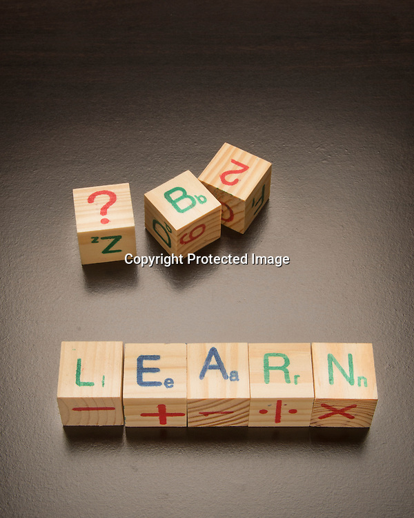 Building blocks used for learning