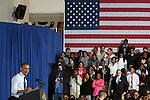 U.S.President Barack Obama visits Brooklyn, NY