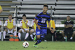 30 August 2013: Duke's Seo-In Kim. The Duke University Blue Devils hosted the Rutgers University Scarlet Knights at Koskinen Stadium in Durham, NC in a 2013 NCAA Division I Men's Soccer match. The game ended in a 1-1 tie after two overtimes.