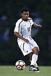 23 September 2016: Boston College's Zeiko Lewis (BER). The University of North Carolina Tar Heels hosted the Boston College Eagles in Chapel Hill, North Carolina in a 2016 NCAA Division I Men's Soccer match. UNC won the game 5-0.