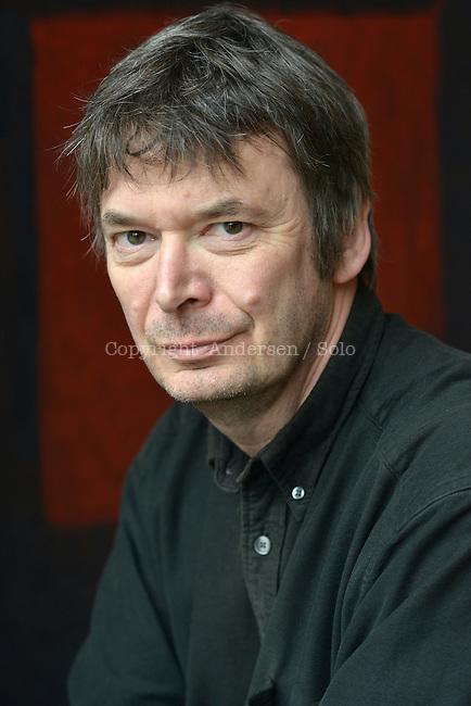 Ian Rankin, Scottish writer in 2015.