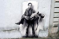 Il murales di Pier Paolo Pasolini  a Trastevere