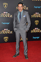 LOS ANGELES, CA. October 20, 2016: Gabriel Luna at the world premiere of Marvel Studios' &quot;Doctor Strange&quot; at the El Capitan Theatre, Hollywood.<br /> Picture: Paul Smith/Featureflash/SilverHub 0208 004 5359/ 07711 972644 Editors@silverhubmedia.com
