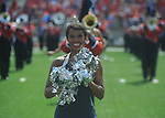 An Ole Miss Rebelette at Vaught-Hemingway Stadium in Oxford, Miss. on Saturday, September 24, 2011. Georgia won 27-13.