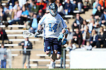 06 February 2016: North Carolina's William McBride. The University of North Carolina Tar Heels hosted the University of Michigan Wolverines in a 2016 NCAA Division I Men's Lacrosse match. UNC won the game 20-10.