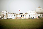 Port-au-Prince, Haiti July 14-19, 2010 - Haitian National Palace..Every year, thousands of Haitians flock to Ville-Bonheur in Haiti for the July 16 feast of Our Lady of Mount Carmel. According to legend, the Virgin Mary showed herself in the mid-1800s on a tree near the waterfall. Every year since, Haitians make the pilgrimage to the waterfall to be blessed in the sacred water. July 2010 was no exception. Following the devastating magnitude-7.0 earthquake that hit the country in January 2010, the prayers were many.