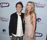 "HOLLYWOOD - OCTOBER 5:  Jacob Bertrand and Peyton List at the Los Angeles premiere of ""The Swap"" at ArcLight Hollywood on October 5, 2016 in Hollywood, California. Credit: mpi991/MediaPunch"