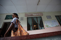 March 23rd, 2011_ BAUCAU, TIMOR-LESTE_ Views of the Canossa Collage, located in the Timorese town of Baucau.  Canossa is a training centre and dormitory for woman and girls run by the Catholic Church.  Photographer: Daniel J. Groshong/Tayo Photo Group