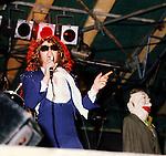 Mott The Hooplw 1974 Ian Hunter at Buxton Festival.© Chris Walter.