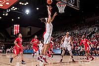 Stanford, CA --January 20, 2017. Stanford Cardinal Women's Basketball vs. University of Arizona. Stanford won 73 - 46.