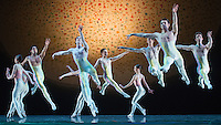Texas Ballet Theater performs Glen Tetly's &quot;Voluntaries&quot; during a dress rehearsal on February 28, 2013 at Bass Performance Hall in Fort Worth, Texas