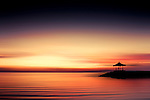 Sunrise at Sanur Beach, Bali, Indonesia<br />