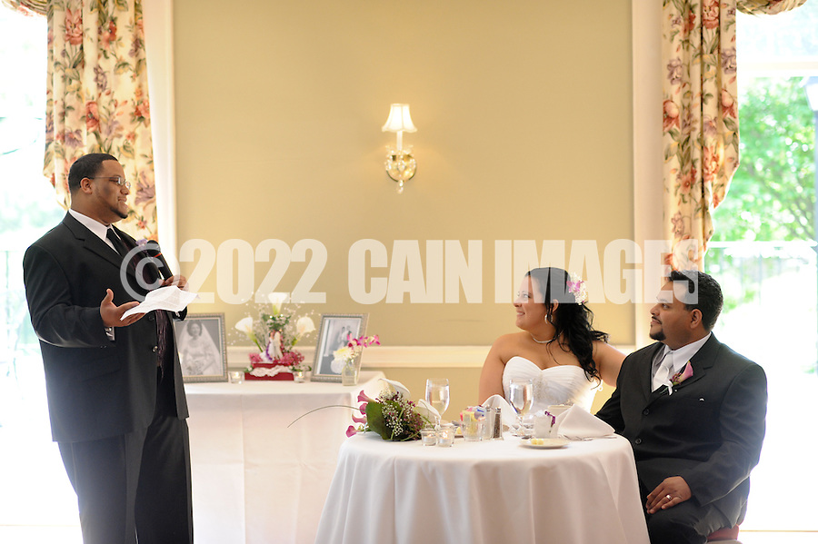 FORT WASHINGTON, PA - JUNE 5: Angela and Anthony  May 21, 2011 at Manufacturers Golf Country Club in Fort Washington, Pennsylvania. (Photo by William Thomas Cain)