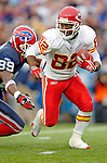 13 November 2005: Kansas City Chiefs wide receiver Dante Hall (82) is pursued by Sam Aiken (89) of the Buffalo Bills at Ralph Wilson Stadium in Orchard Park, NY. The Bills defeated the Chiefs 14-3. ..Mandatory Photo Credit: Ed Wolfstein