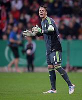 FUSSBALL  DFB-POKAL  HALBFINALE  SAISON 2012/2013    FC Bayern Muenchen - VfL Wolfsburg            16.04.2013 Torwart Diego Benaglio (VfL Wolfsburg)