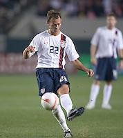 Brad Davis,.USA vs Sweden, Home Depot Center, in Carson, Calif., Sat., January, 19, 2008.