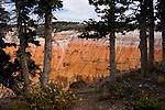 Cedar Breaks National Monument, Utah, UT, view, vista from Point Supreme, nature, landscape, erosion, Image ut302-18855, Photo copyright: Lee Foster, www.fostertravel.com, lee@fostertravel.com, 510-549-2202