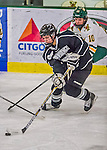 1 February 2015: Providence College Friar Forward Haley Frade, a Senior from Marion, MA, in third period action against the University of Vermont Catamounts at Gutterson Fieldhouse in Burlington, Vermont. The Friars fell to the Lady Cats 7-3 in Hockey East play. Mandatory Credit: Ed Wolfstein Photo *** RAW (NEF) Image File Available ***
