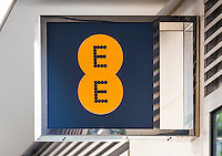 EE Mobile Phone Shop Sign - Aug 2013.