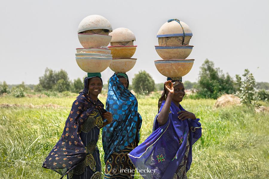 Fulani women from Argungu, north-western Nigeria