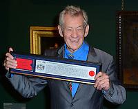 OCT 30 Sir Ian McKellen awarded Freedom of the City of London