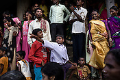 Kondh tribes get together to celebrate their annual festival in Lanjigarh, Orissa, India.