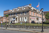 The historic colonial era Philipse Manor Hall in downtown Yonkers, New York.
