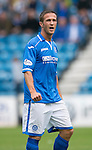 St Johnstone FC Season 2013-14<br /> Chris Millar<br /> Picture by Graeme Hart.<br /> Copyright Perthshire Picture Agency<br /> Tel: 01738 623350  Mobile: 07990 594431